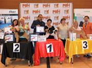 """Silbermedaille """"German Grooming Competition"""" in Deutschland Champion Klasse- Handtrimmen Margit Schönauer Wien"""