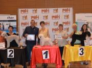 """Bronzemedaille """"German Grooming Competition"""" in Deutschland Champion Klasse- andere Schneiderasse Margit Schönauer Wien"""