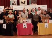 """Silbermedaille """"German Grooming Competition"""" in Deutschland Offene Klasse- Spaniel/Setter Margit Schönauer Wien"""
